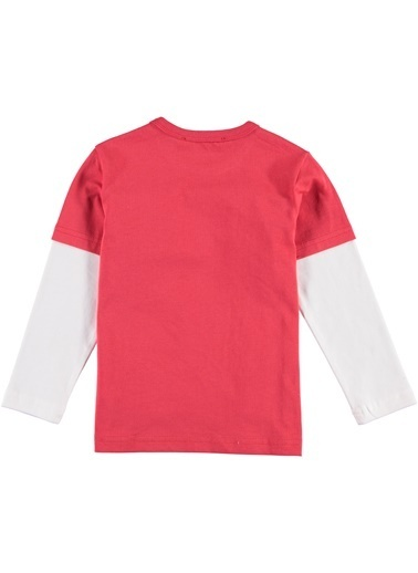 Morhipo Kids Kolları Garnili Tişört Kırmızı